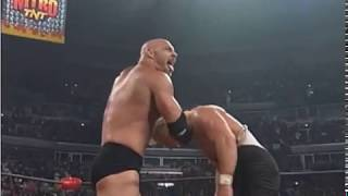 Goldberg & Kevin Nash vs Hulk Hogan & The Giant (Big Show)