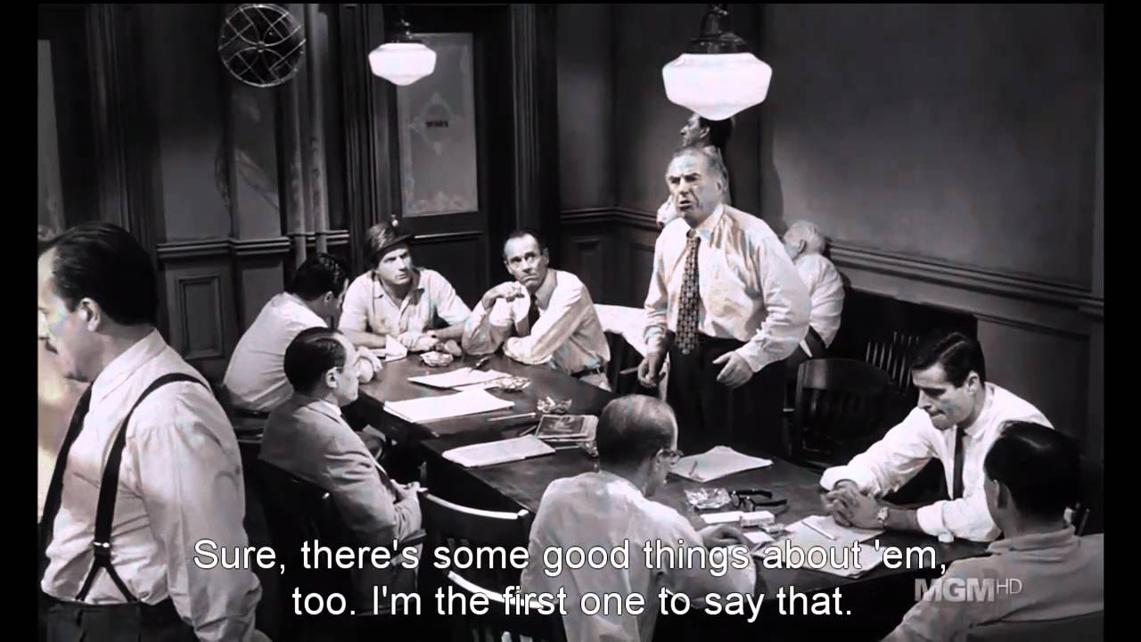 12 angry men prejudice essays