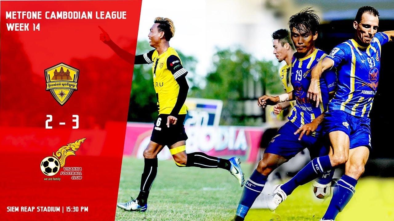 [MCL- Week14] Soltilo Angkor FC (2:3) Visakha FC