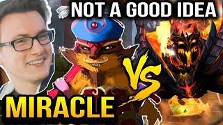 MIRACLE Pangolier vs SHADOW FIEND Mid - It's Not a Good Idea Dota 2