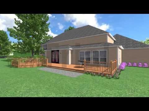 3D home landscape