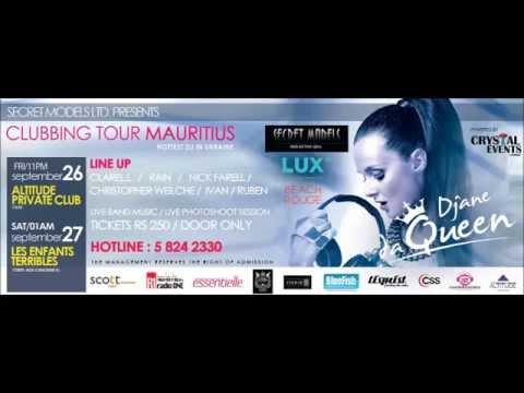 DJ DA QUEEN Clubbing Tour Mauritius - Radio One Promo