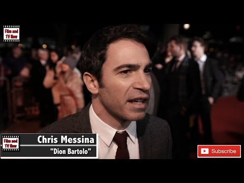 Chris Messina Live By Night European Premiere Red Carpet Interview