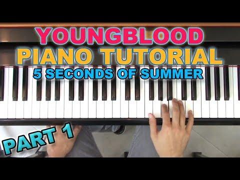 """Youngblood"" - Piano Tutorial + Sheets - 5SOS   George Vidal"