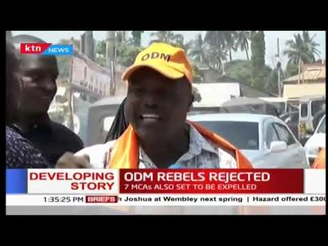 Coast residents demand the expulsion of ODM rebels from the party