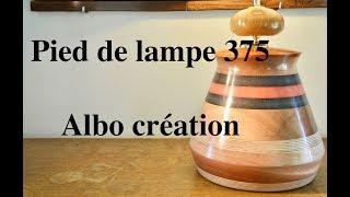 TOURNAGE PIED DE LAMPE 375.