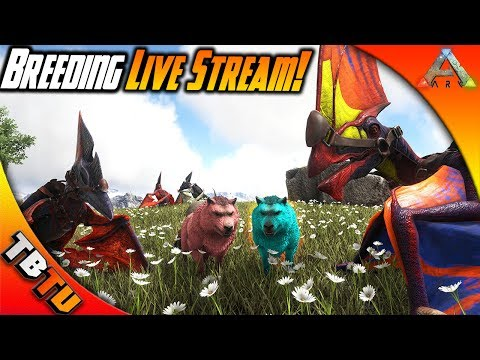 Ark: Survival Mutation Zoo E2 - TROODON AND THERIZINO BREEDING AND MUTATIONS! MASS HATCHING STREAM
