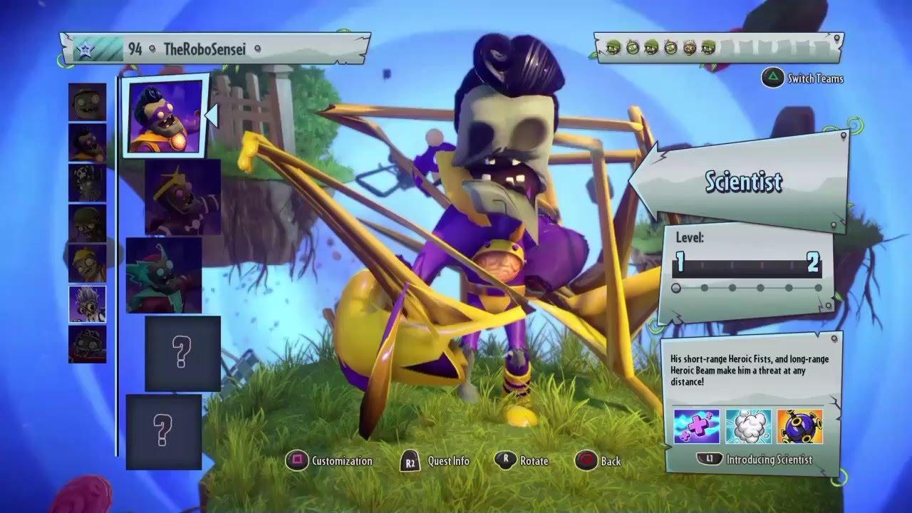 Return of the crazy glitch plants vs zombies garden warfare 2 ps4 youtube for Plants vs zombies garden warfare 2 ps4