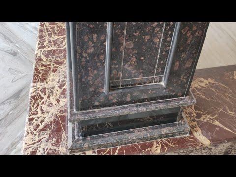 Building construction Granite wall pillar design ! Pillar design / पिल्लर की डिज़ाइन