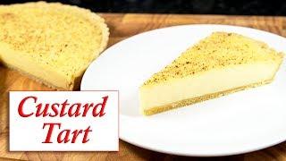 Custard Tart/ Blind baking pastry case