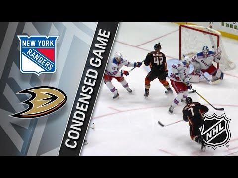 01/23/18 Condensed Game: Rangers @ Ducks