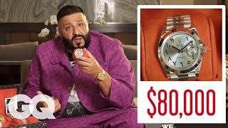 Download DJ Khaled Shows Off His Insane Jewelry Collection | GQ Mp3 and Videos