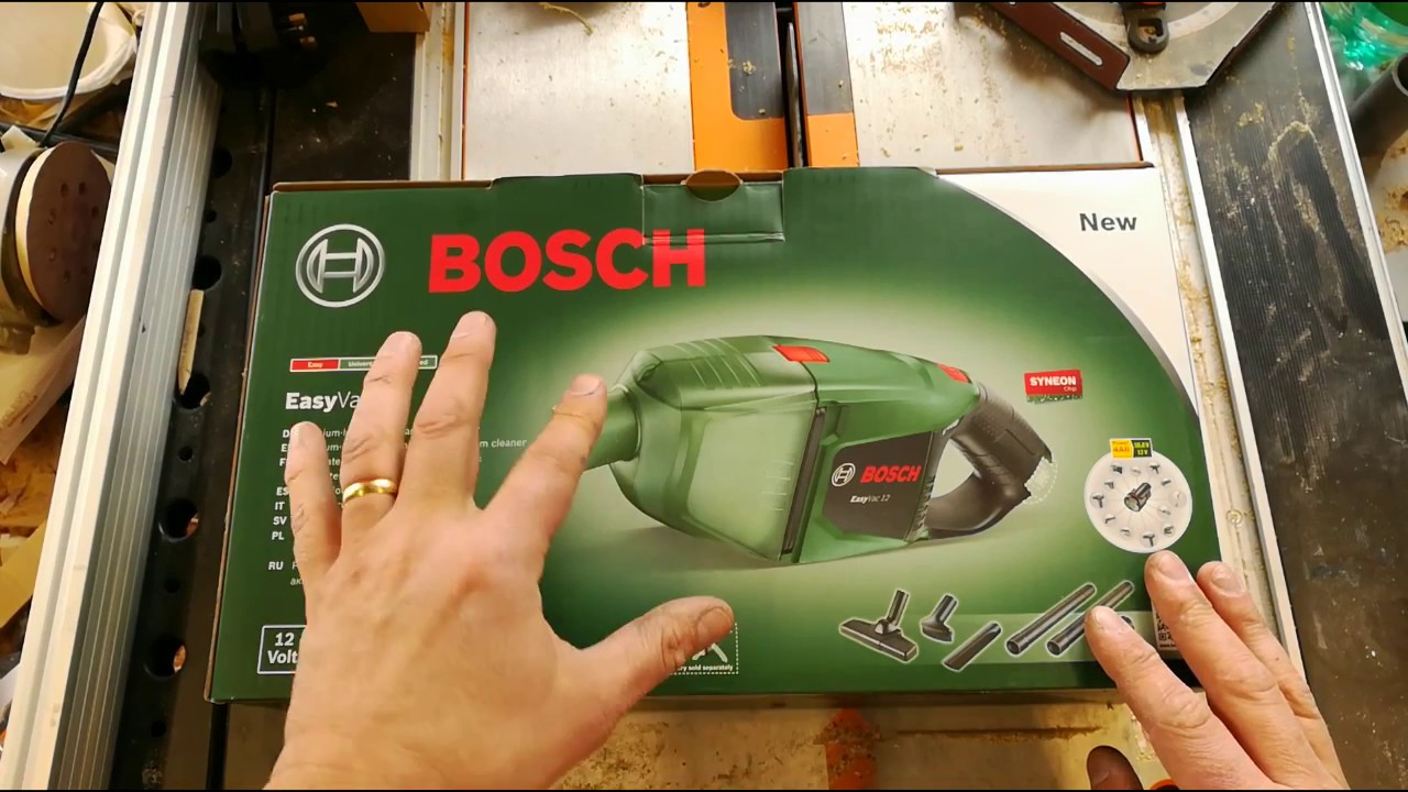 bosch easy vac 12 youtube. Black Bedroom Furniture Sets. Home Design Ideas