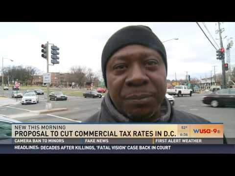 DC Council Considering Slashing Commerical Taxes East of Anacostia River - Newsroom