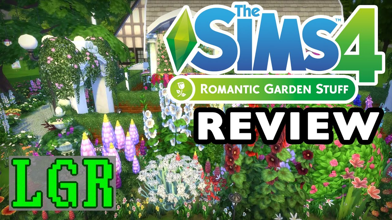 LGR   The Sims 4   Romantic Garden Stuff Review   YouTube