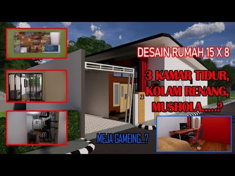 desain-rumah-15x8-meter,meja-gameing,3-kamar-tidur,kolam-renang,musholla...?