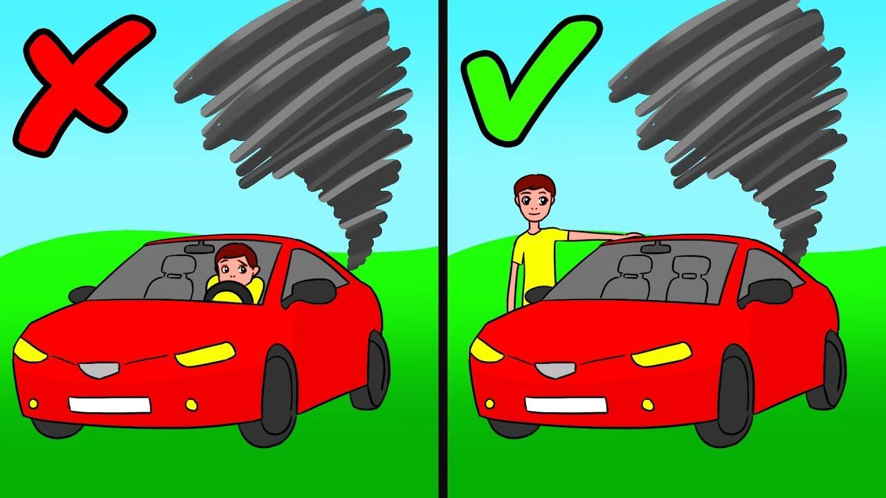 6 Consigli Salvavita in caso di disastro naturale