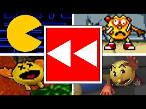 Evolution Of Pac-Man Deaths & Game Over Screens Reversed (1980-2020) Arcade, PS1, 3DS, PC & More!