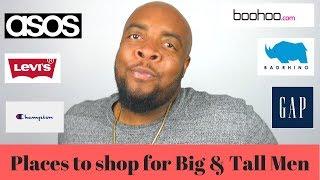 Plus Size Men S Clothing Websites