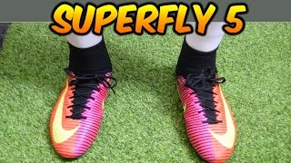 NIKE MERCURIAL SUPERFLY 5 SPARK BRILLIANCE PACK REVIEW + On-Feet