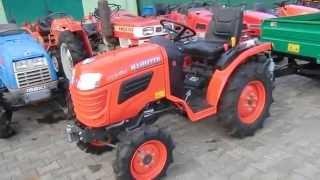 Kubota B 1220 Japoński traktorek-ciągniczek ogrodniczy. www.traktorki-japonskie.waw.pl