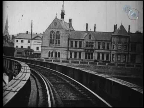 early train film view   engine front barnstaple  youtube
