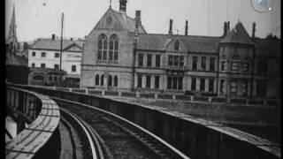 Early train film - 'View from an Engine Front - Barnstaple' (1898)