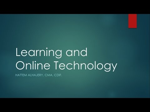 Learning and Online Technology