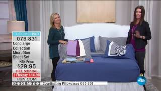 HSN | HSN Today: Concierge Collection Bedding 11.04.2016 - 08 AM