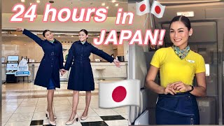 FLYING WITH MY SISTER TO JAPAN   FLIGHT ATTENDANT LAYOVER by Aira Lopez