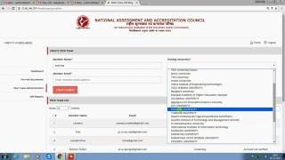 Ssr Naac  Admin Guide For University