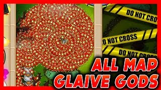 Glaive God LATE GAME - How Long Can It Last?? Bloons TD Battles (BTD Battles)