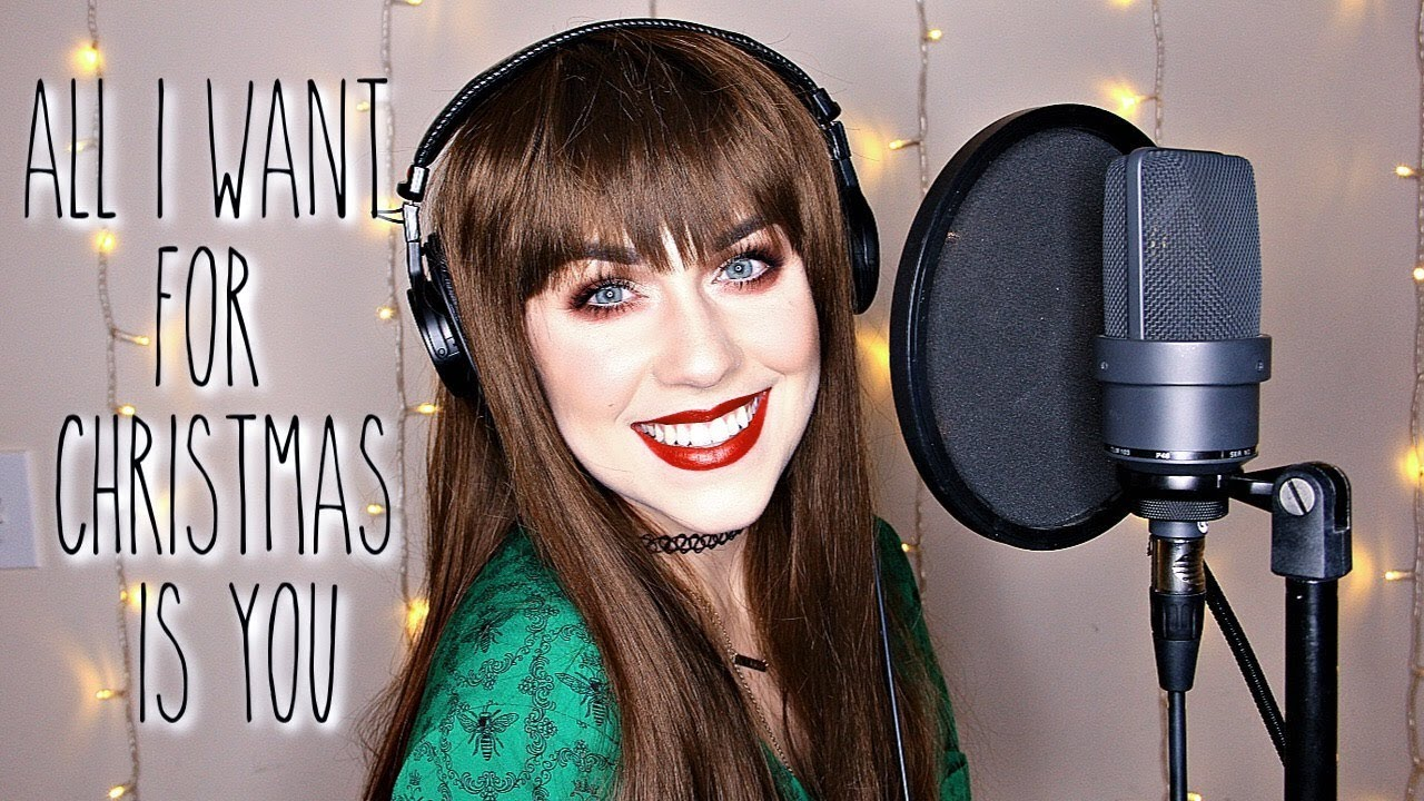 All I Want For Christmas Is You - Mariah Carey (Live Cover by Brittany J Smith)