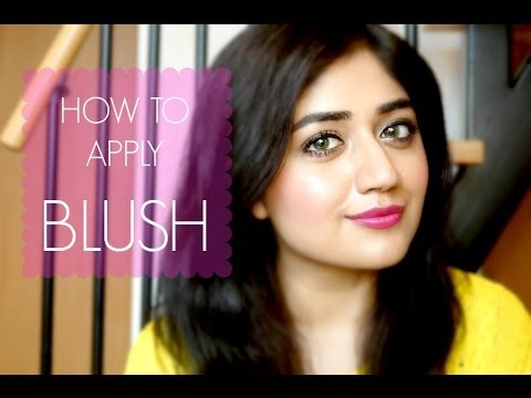 How to apply Blush : Basic Beginners Makeup Tutorial | corallista