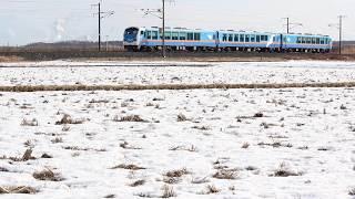 青い森鉄道 キハ48形8227D「リゾートうみねこ下北1号」 陸奥市川~下田 2020年1月4日