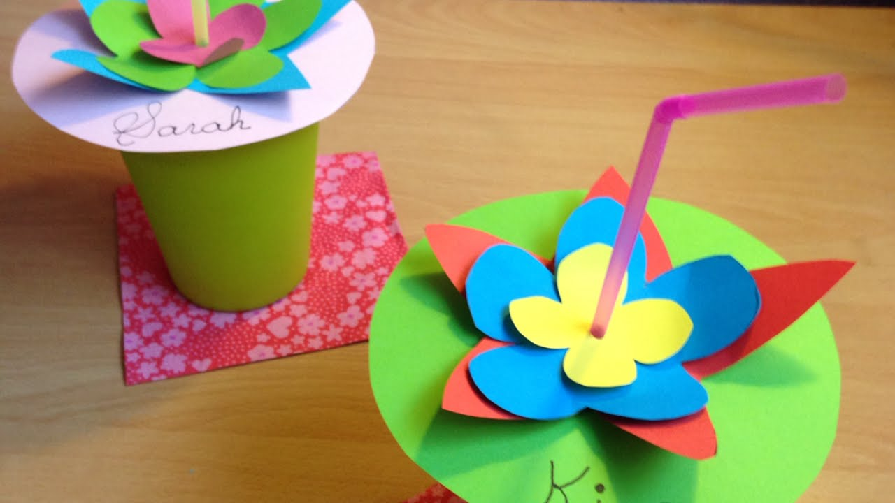 Decorating Plastic Tumblers Decorate A Paper Cup For Birthday Parties Diy Home