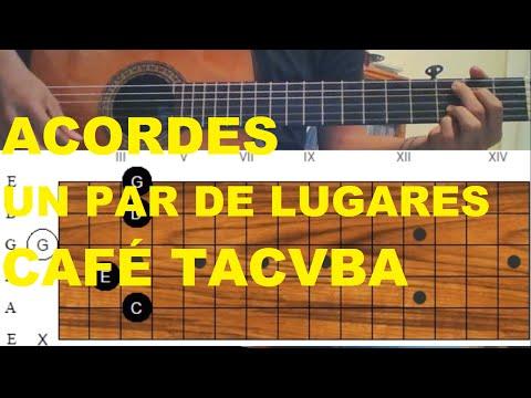 TUTORIAL - Un Par De Lugares de Café Tacvba   David Mejía