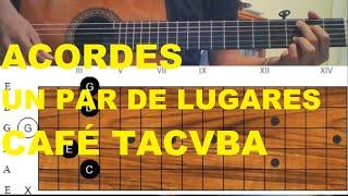 TUTORIAL - Un Par De Lugares de Café Tacvba | David Mejía