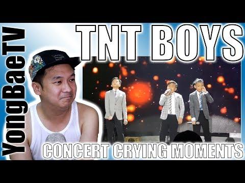 TNT Boys Concert CRYING Moments - Flashlight & Listen  | Reaction | YongBaeTV
