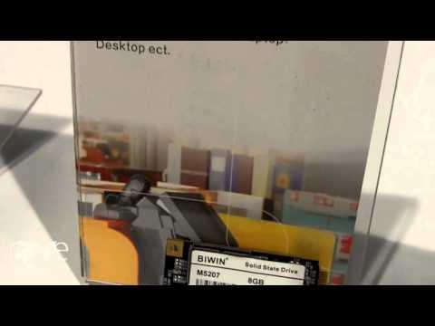DSE 2015: Biwin Showcases mSata Mini Flash Storage and SATA Drive With PCIe Connectors