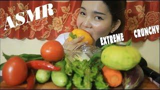 ASMR Veggie Platter ( EXTREME CRUNCHY EATING SOUNDS ) - NYNY-ASMR