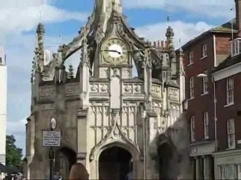 Chichester & Lewes, the two county towns of Sussex, England