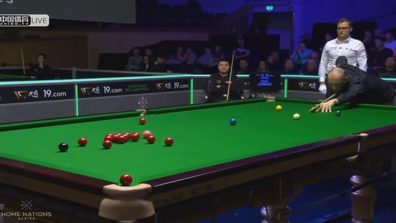 Ding Junhui Vs David Lilley 2019 Snooker Northern