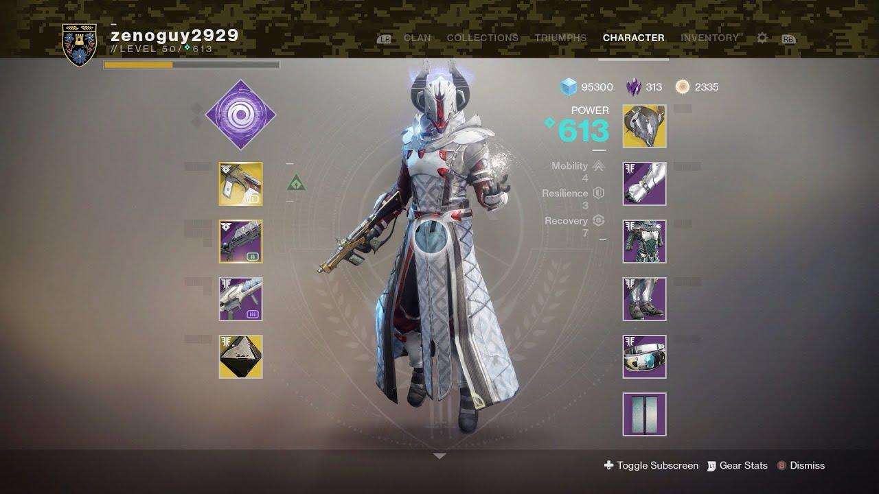 My Destiny 2 Warlock Build 2019 | ItsZeno