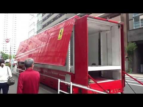 【貴重】フェラーリ Ferrari トランスポーター スカニア(SCANIA)トラック
