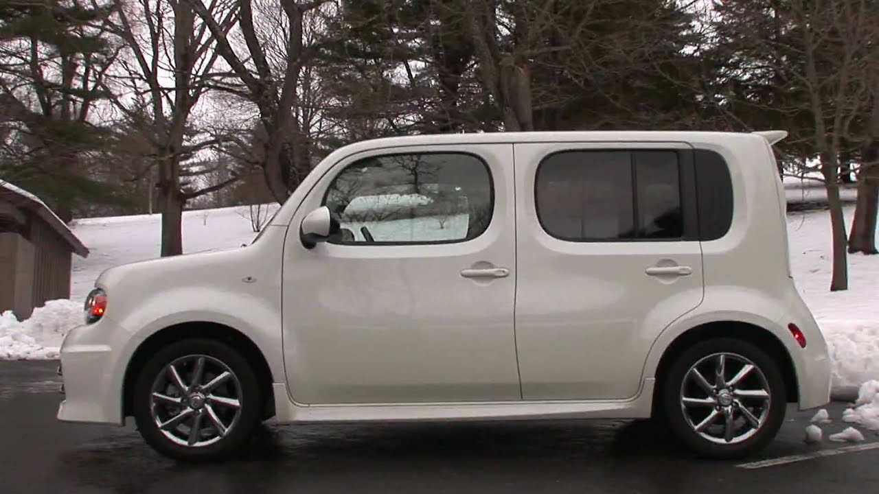 2010 nissan cube krom drive time review youtube vanachro Choice Image