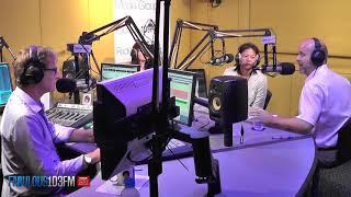 NEW! Paul Kaye - HM British Consul in Bangkok Thailand - visits Fabulous 103FM Pattaya