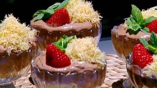 أكواب الشوكولا موس بعجينة الكنافة - روان تميمي