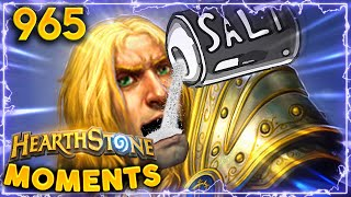 Check Your Blood Pressure, SALT OVERLOAD Incoming | Hearthstone Daily Moments Ep.965