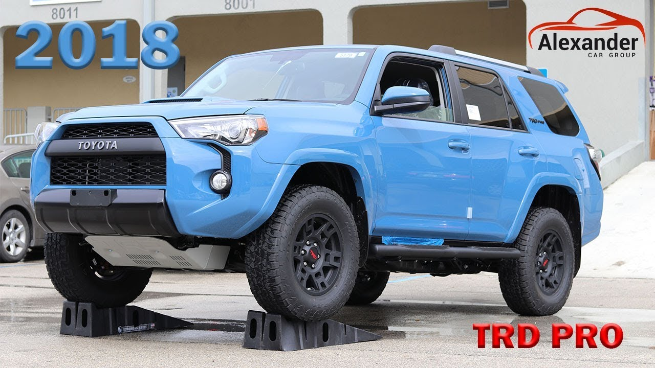 2018 Toyota Tacoma Trd Pro Youtube Autos Post
